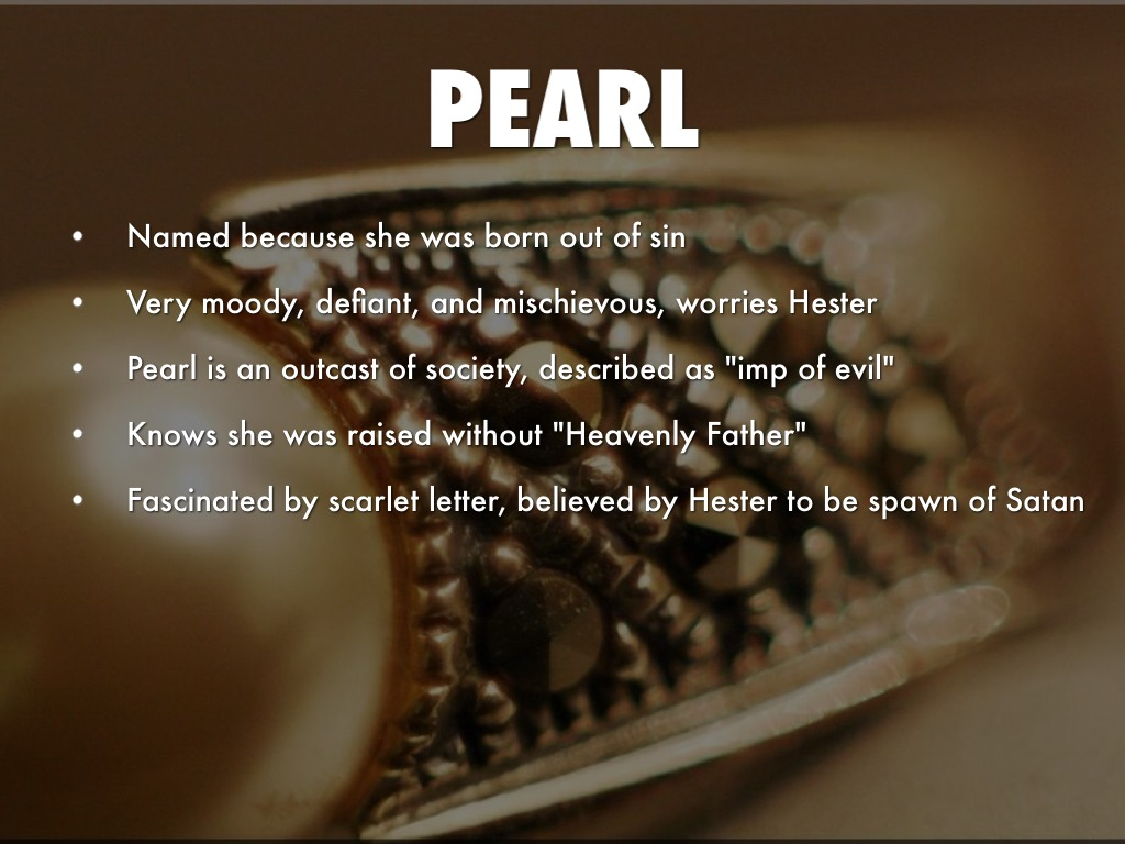 symbolism of pearl in the scarlet letter essay