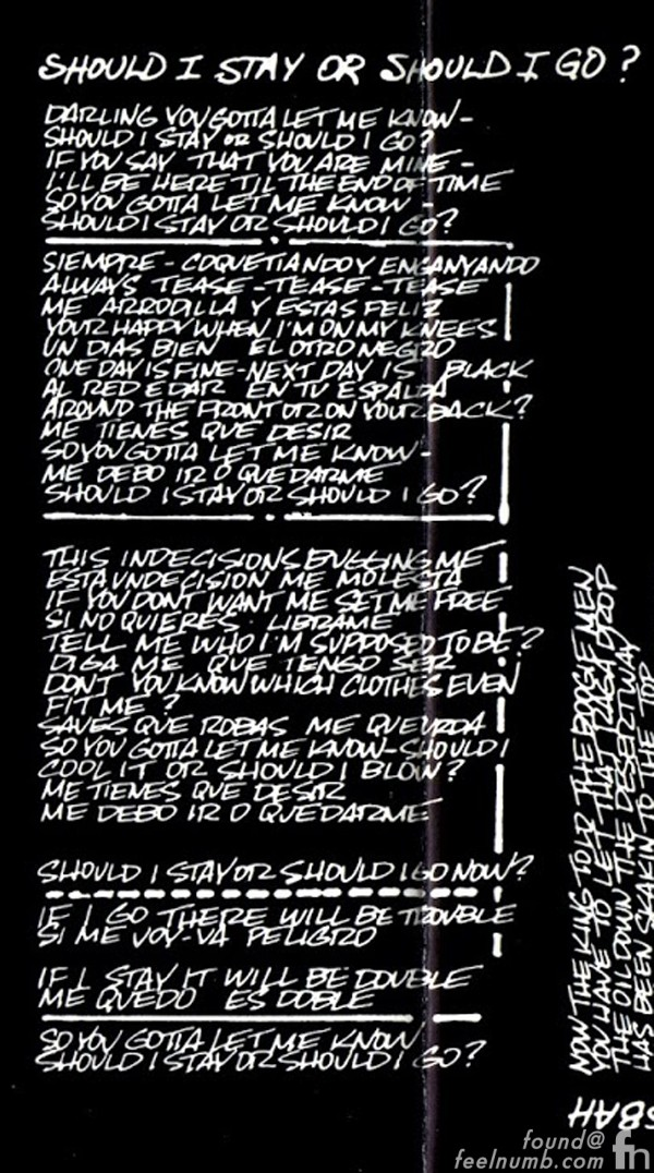 Clash of the titans lyrics