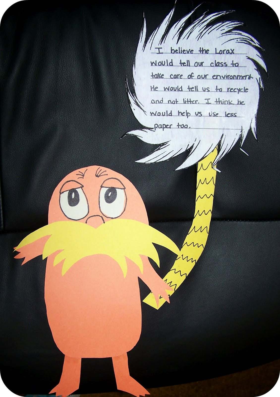 the lorax essay