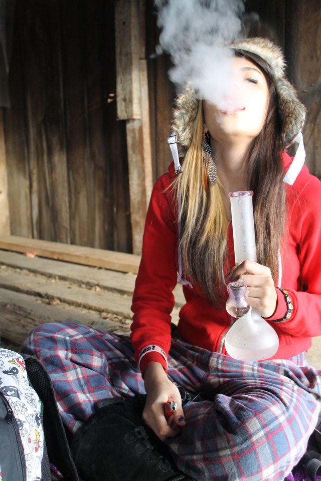 Girl Smoking Weed Quotes Quotesgram