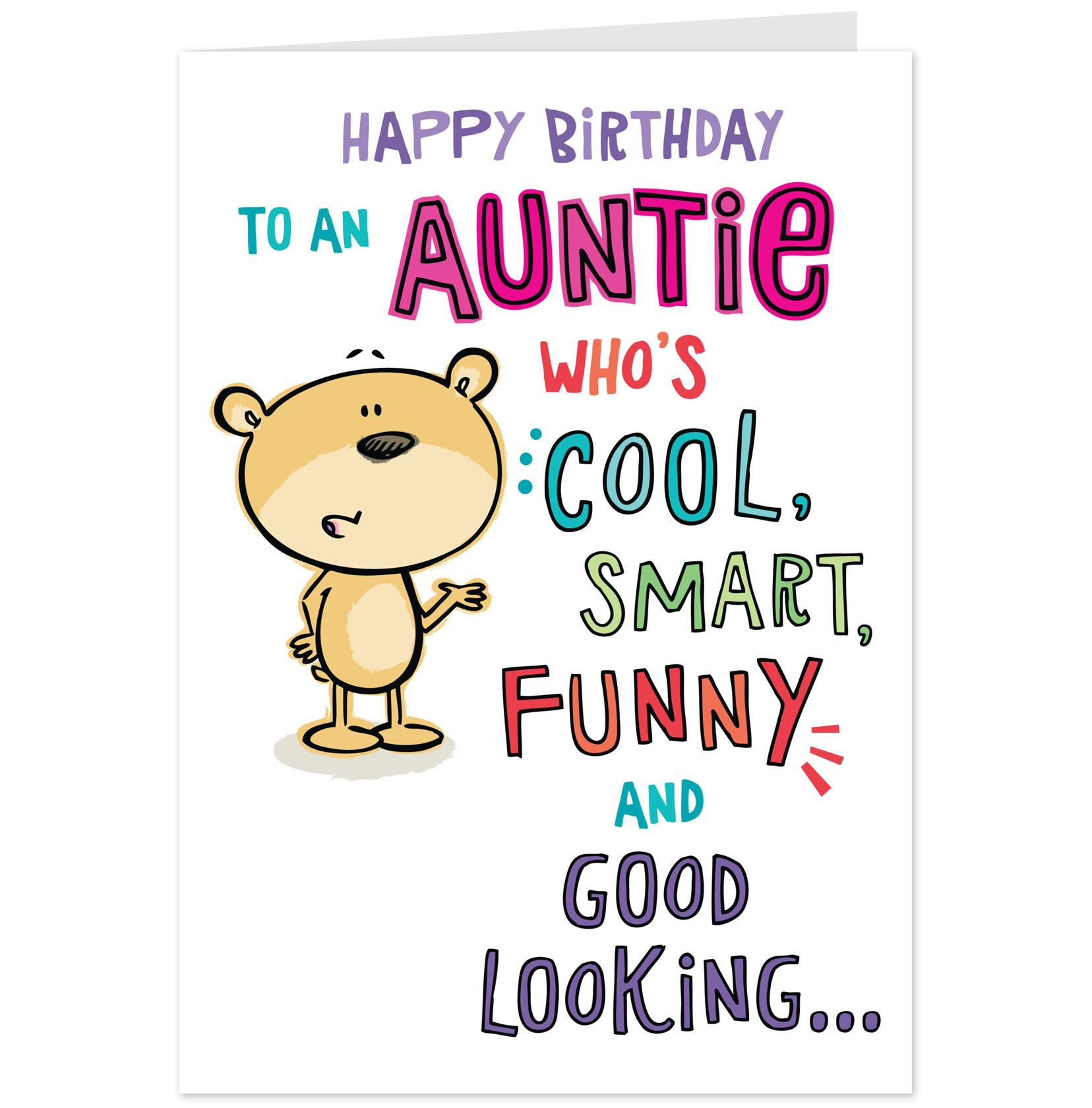 Humorous Happy Birthday Aunt Quotes. QuotesGram