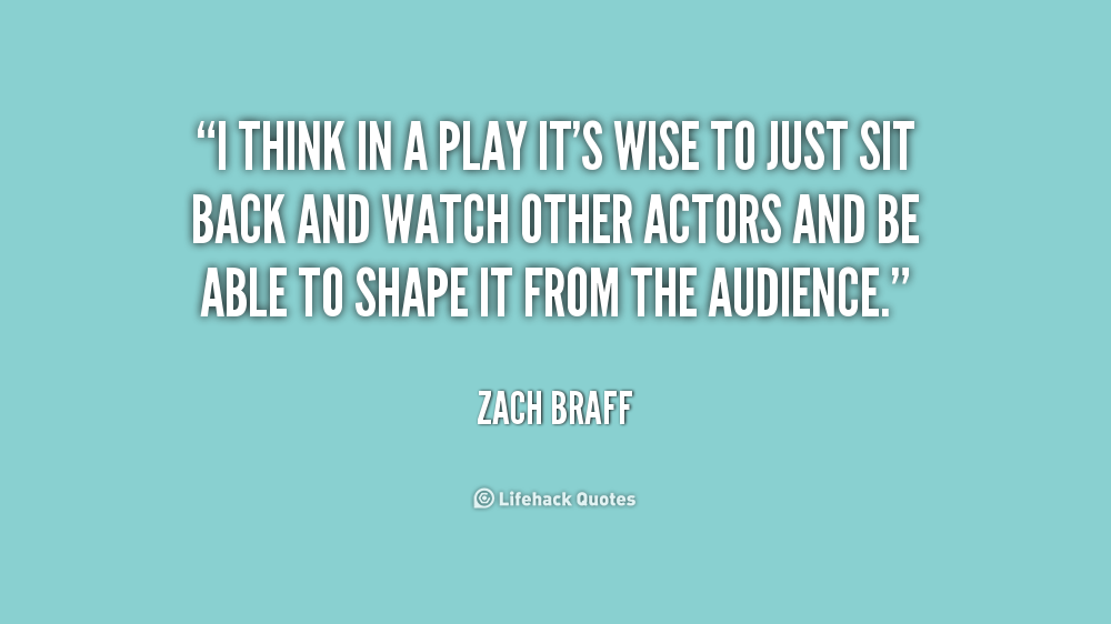 Quotes About Sitting Back And Watching. QuotesGram