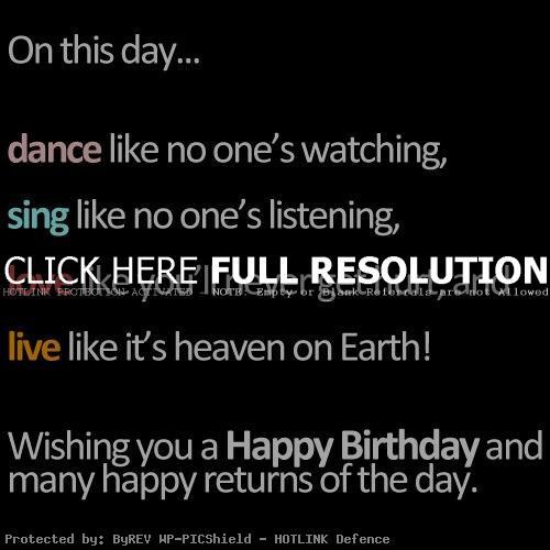 Amazing Birthday Quotes. QuotesGram