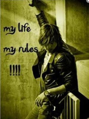My style my rules my attitude