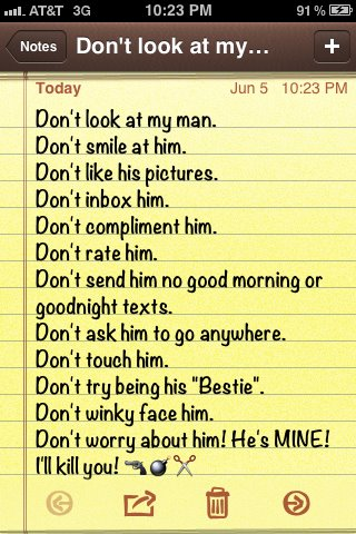 Dont Touch My Boyfriend Quotes. QuotesGram