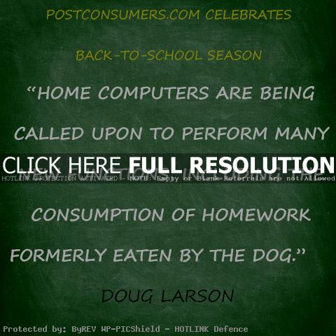 Inspirational quote about homework