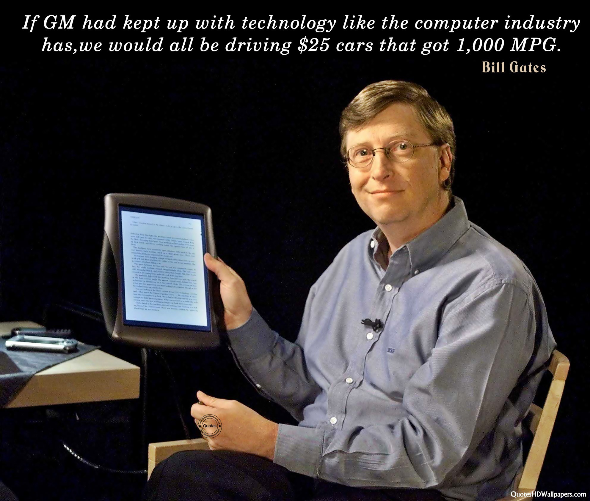 Bill Gates On Education Quotes: Bill Gates Quotes On Technology. QuotesGram