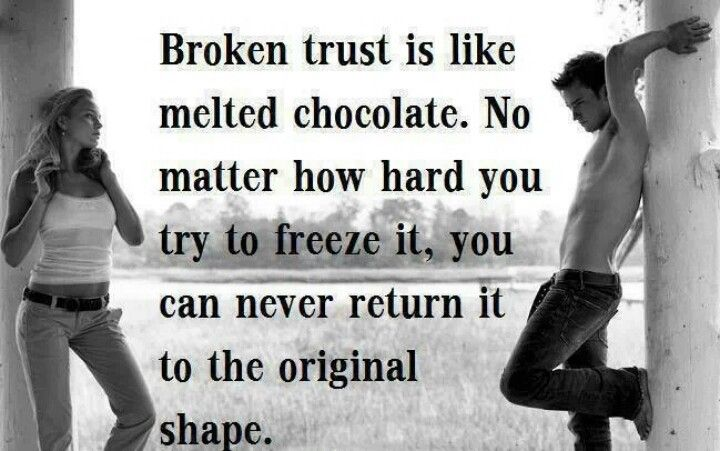 Broken Trust Quotes And Sayings: Relationship Quotes Sayings Broken Trust. QuotesGram