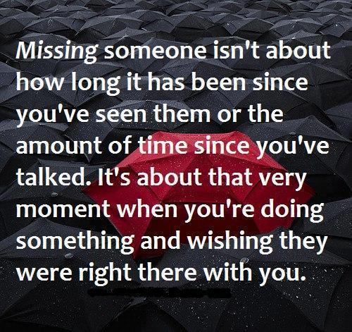 Romantic Quotes About Missing Someone Quotesgram