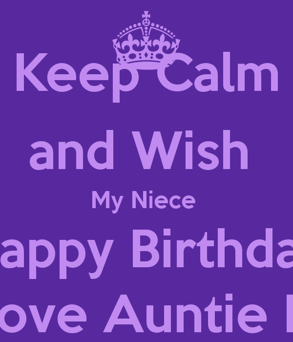 Happy Birthday To My Niece Quotes: Niece Quotes. QuotesGram