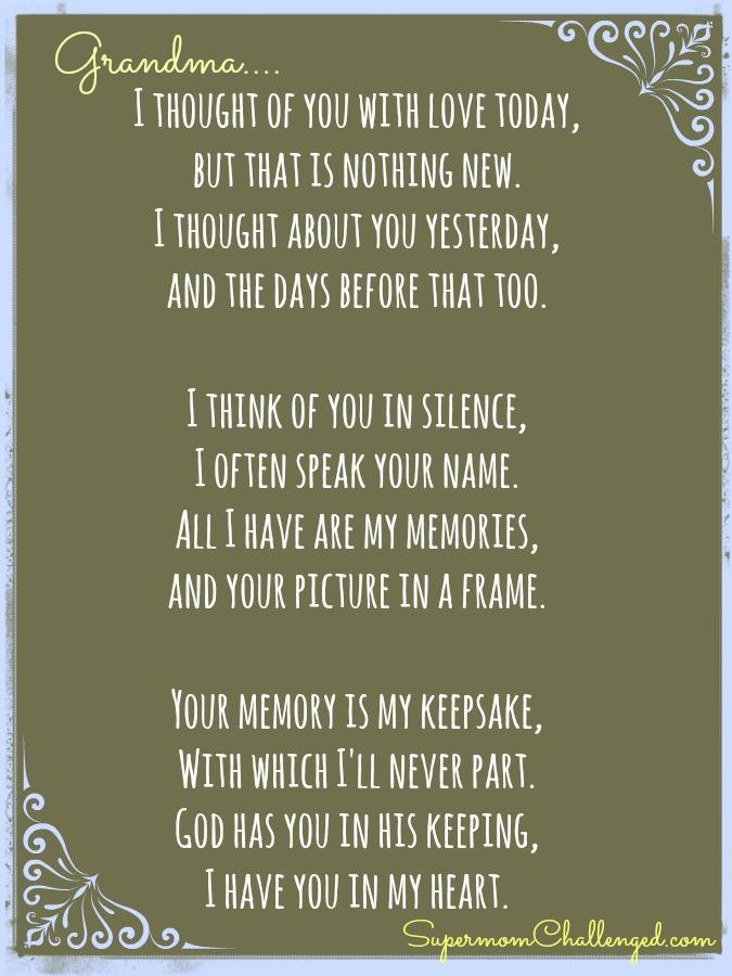 I Miss My Grandma Quotes: I Miss You Grandma Quotes. QuotesGram