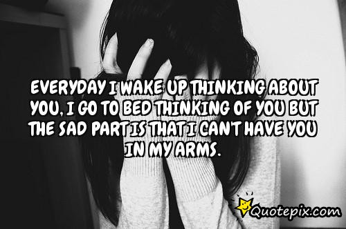 Waking Up Thinking Of You Quotes. QuotesGram