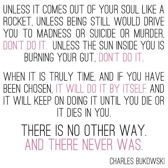 130 Sad Quotes And Sayings: Charles Bukowski Quotes On Sadness. QuotesGram