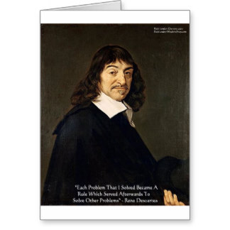 wisdom according to rene descartes At the time descartes cast doubt on the reliability of sense perception, it was a radical position he was proposing that scientific observation had to be an interpretive act requiring careful monitoring the proponents of the british empiricist movement especially opposed descartes' ideas.