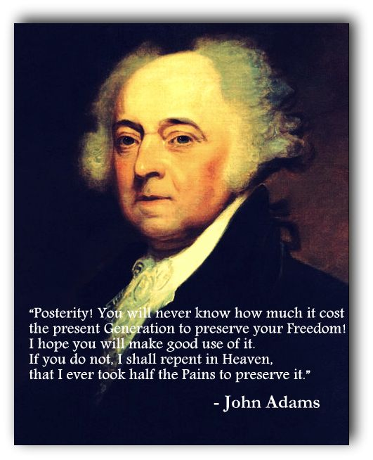 American Revolution Quotes: The Famous Quotes From John Adams Revolutionary War