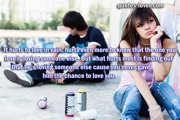 What if the person you love is dating someone else