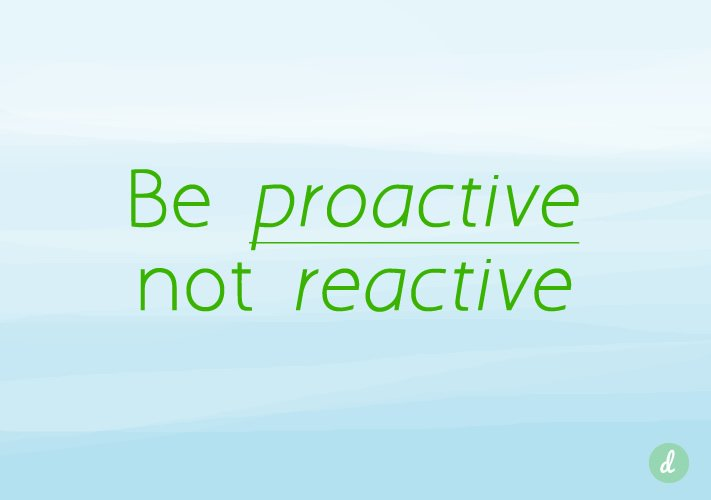Proactive Work Quotes. QuotesGram