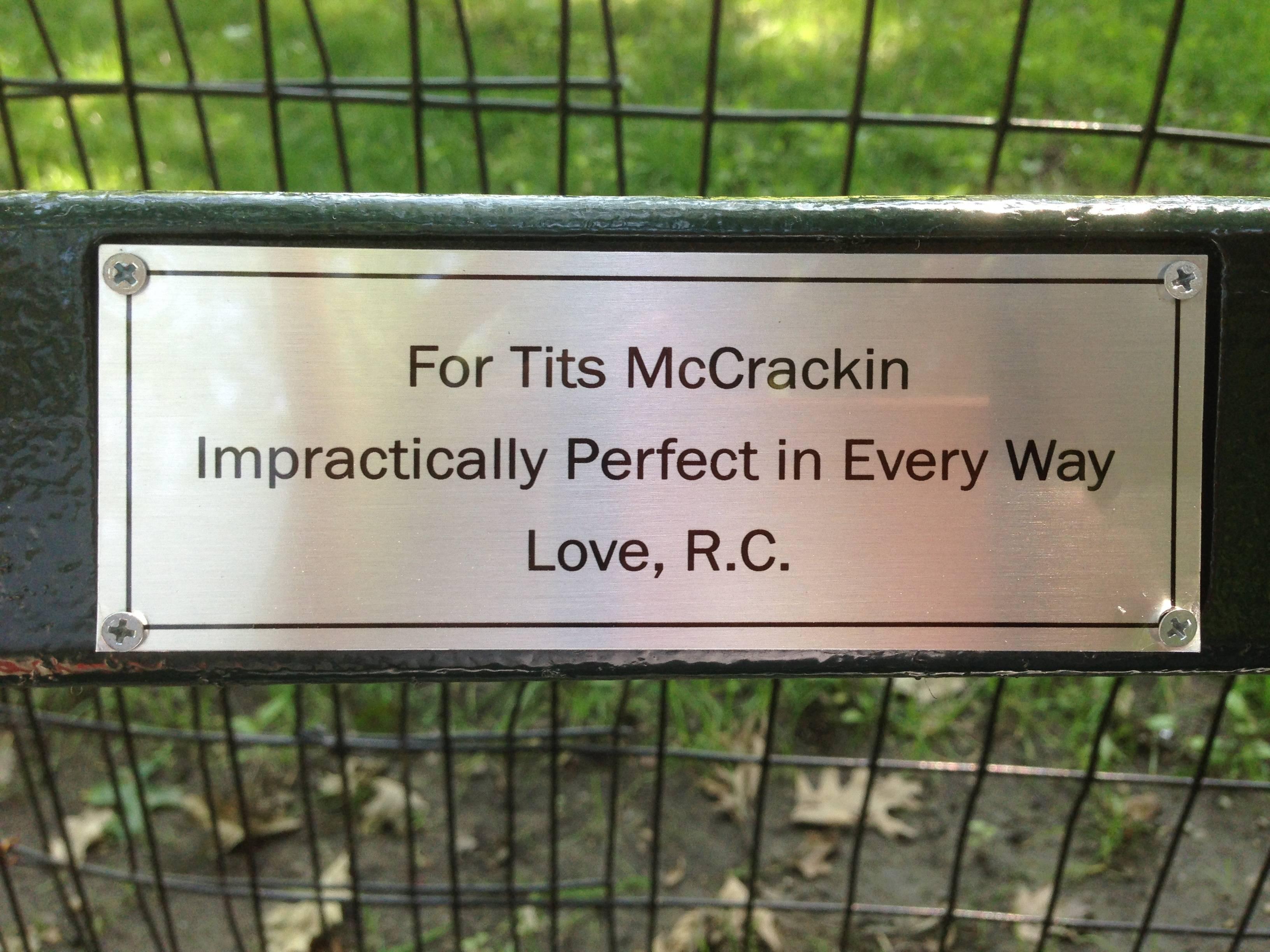 Memorial Bench Plaque Quotes Quotesgram