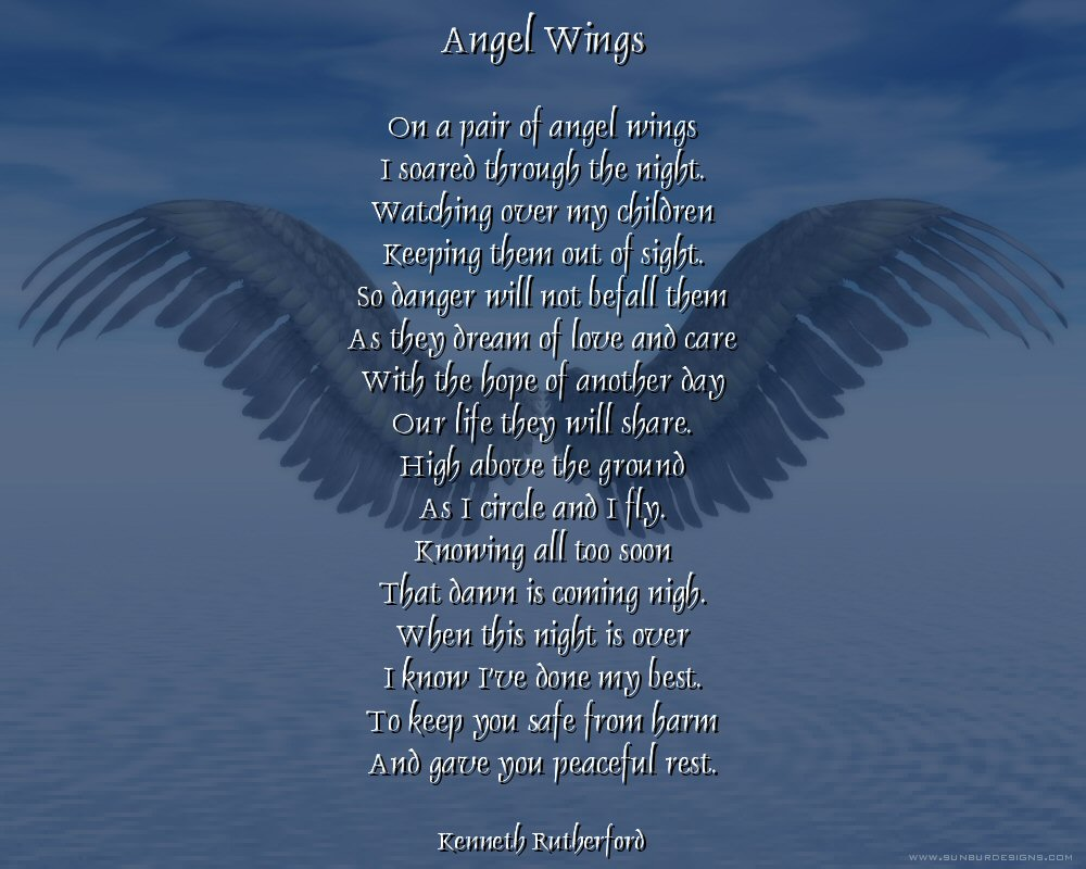 Father And Angel Quotes Poems. QuotesGram