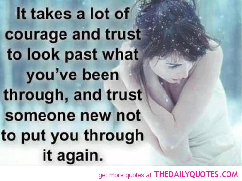 Broken Trust Quotes And Sayings. QuotesGram