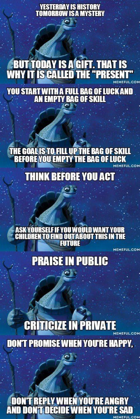 Kung Fu Wisdom Quotes Quotesgram