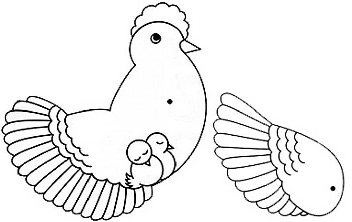Quotes To Draw Chicken: Under Mothers Wing Quotes. QuotesGram