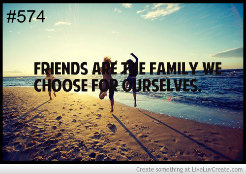 We Are Family Quotes: Quotes Friends Are The Family We Choose. QuotesGram