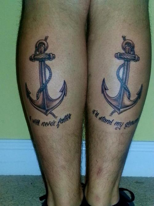 Biblical Tattoos Quotes Anchor. QuotesGram