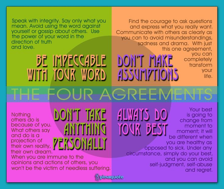 The Four Agreements Quotes Pdf Quotesgram