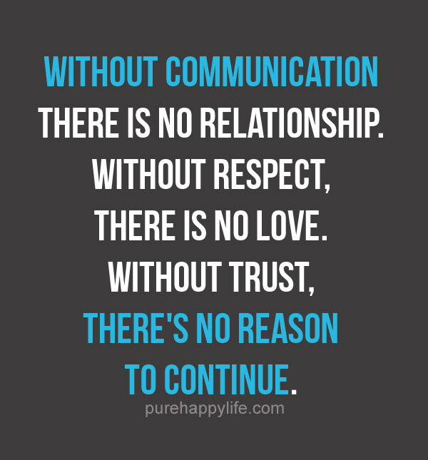 Teamwork Relationship Quotes: Communication Quotes Relationships. QuotesGram