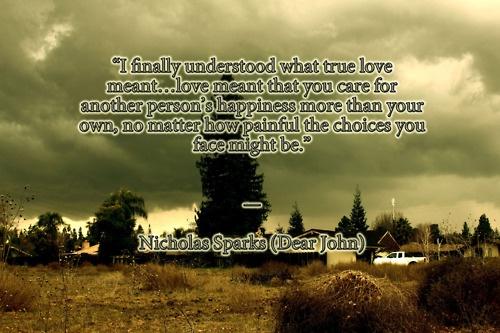 Quotes Nicholas Sparks Dear John: Love Quotes Dear John. QuotesGram