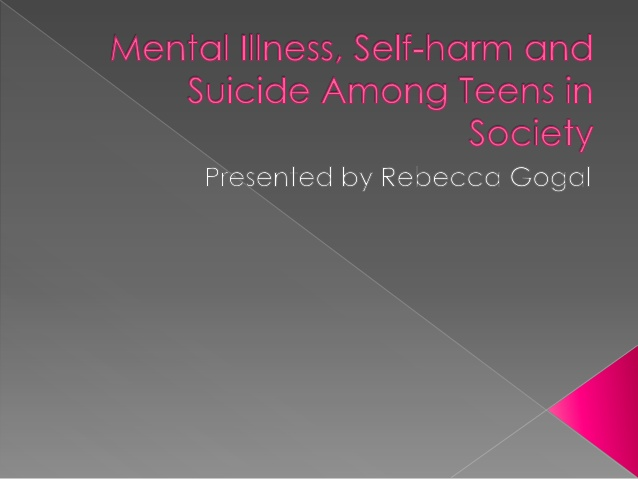 teens and self cutting essay