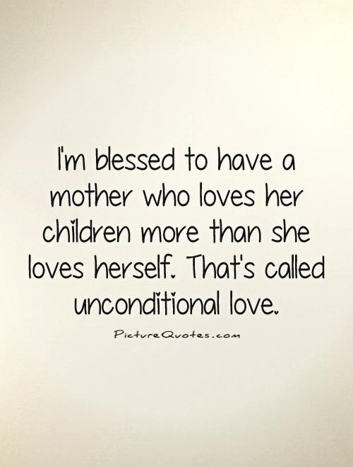Mother Teresa's Unconditional Love