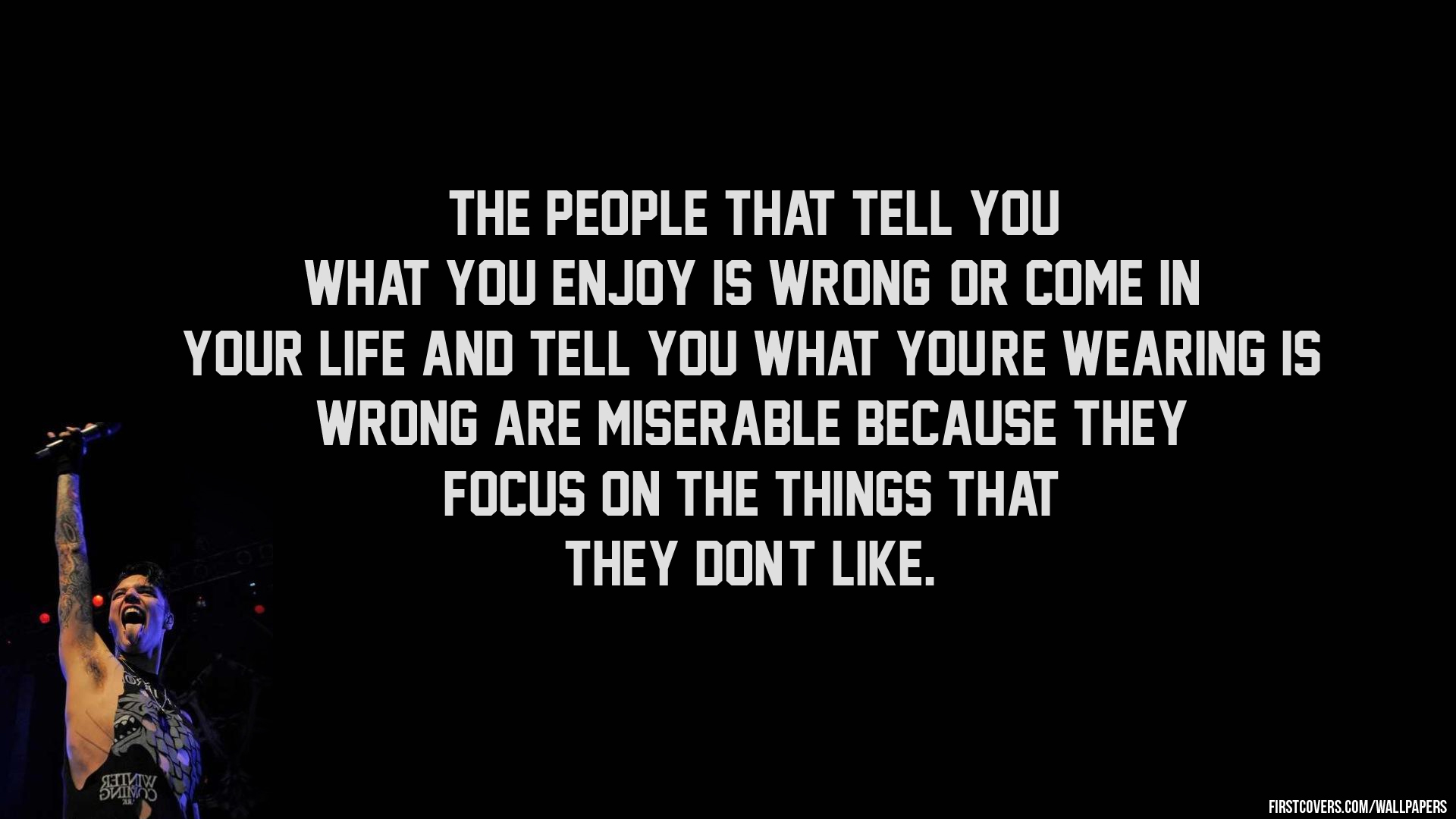 Andy Biersack Quotes. QuotesGram