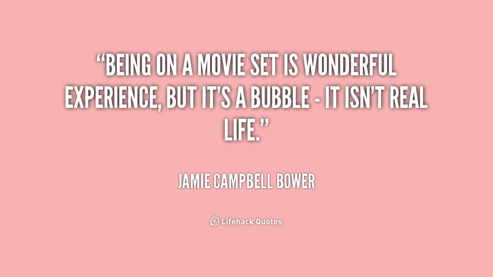 Film Set Quotes Quotesgram