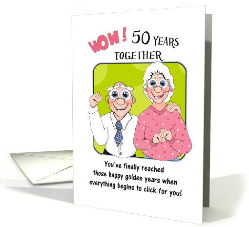 Humorous 50th Anniversary Quotes Quotesgram
