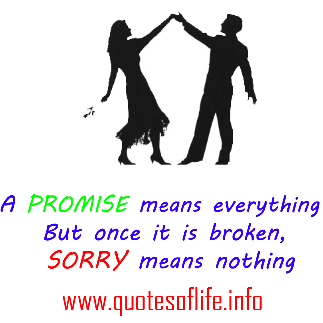 Quotes About Saying Sorry And Not Meaning It: Sorry Means Nothing Quotes. QuotesGram