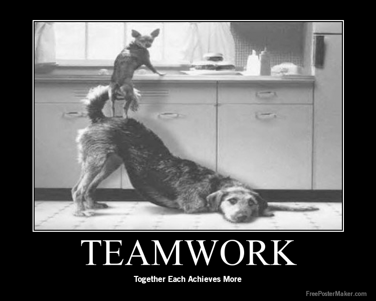 Funny Team Quotes: Funny Teamwork Quotes Clip Art. QuotesGram