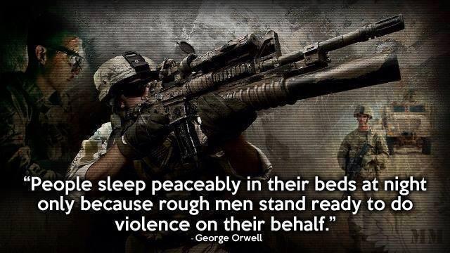 George Orwell Quotes Rough Men Quotesgram-6222