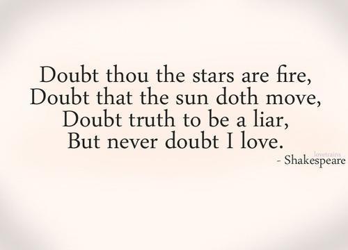 Bogus shakespeare quotes