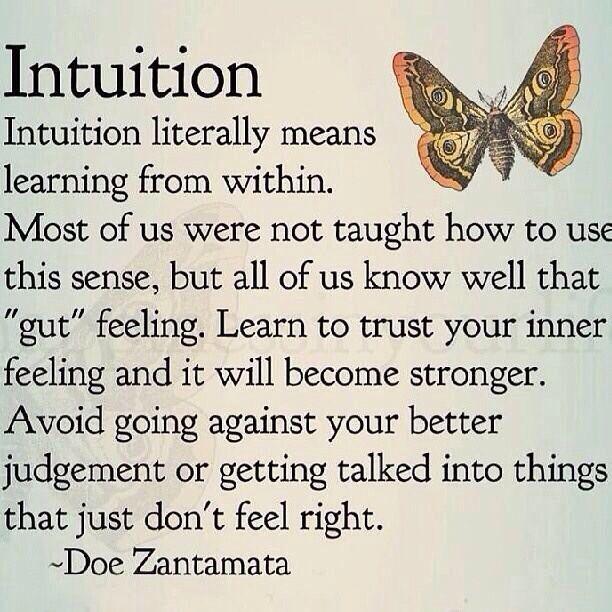 In gut trusting your relationships feeling Gut Instincts