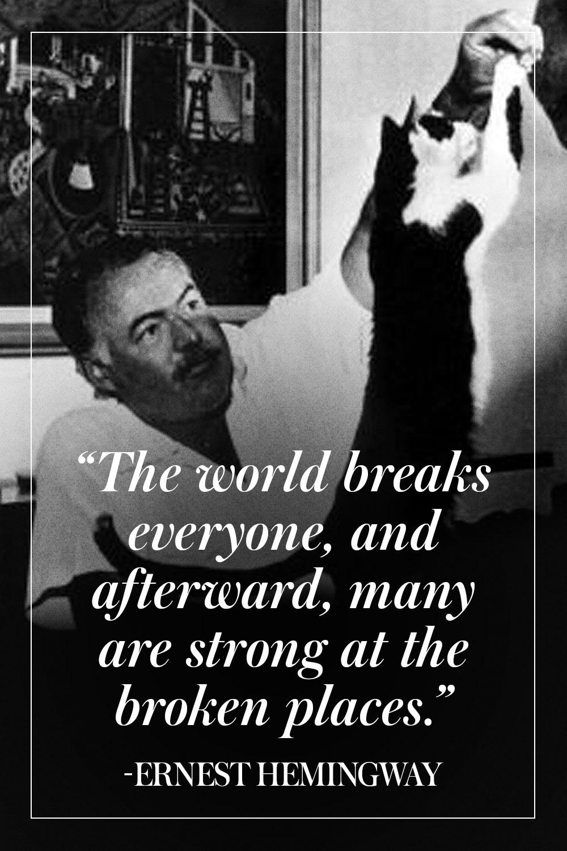 Hemingway Quotes Quotesgram