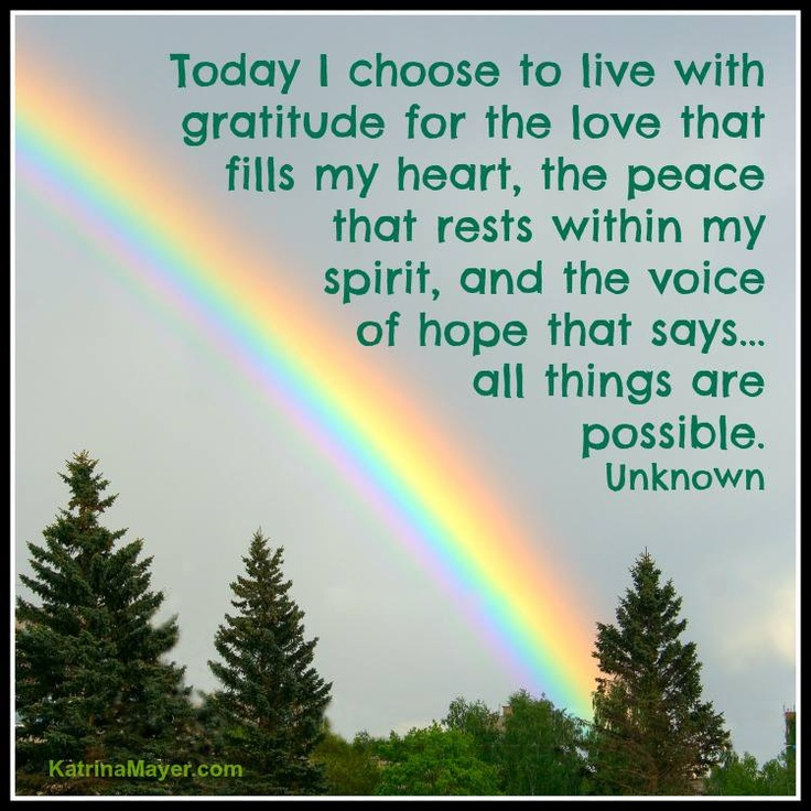 Inspirational Quotes About Positive: Quotes About Love And Rainbows. QuotesGram