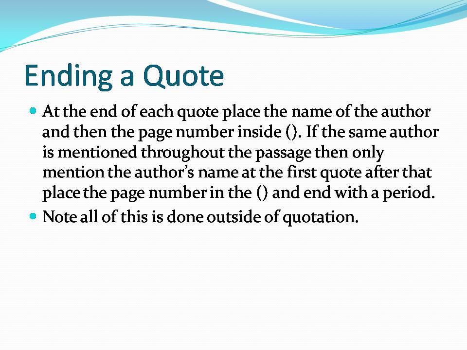 mla format essay cite quotes