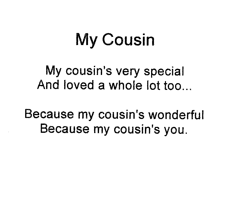how to get your cousin to love you