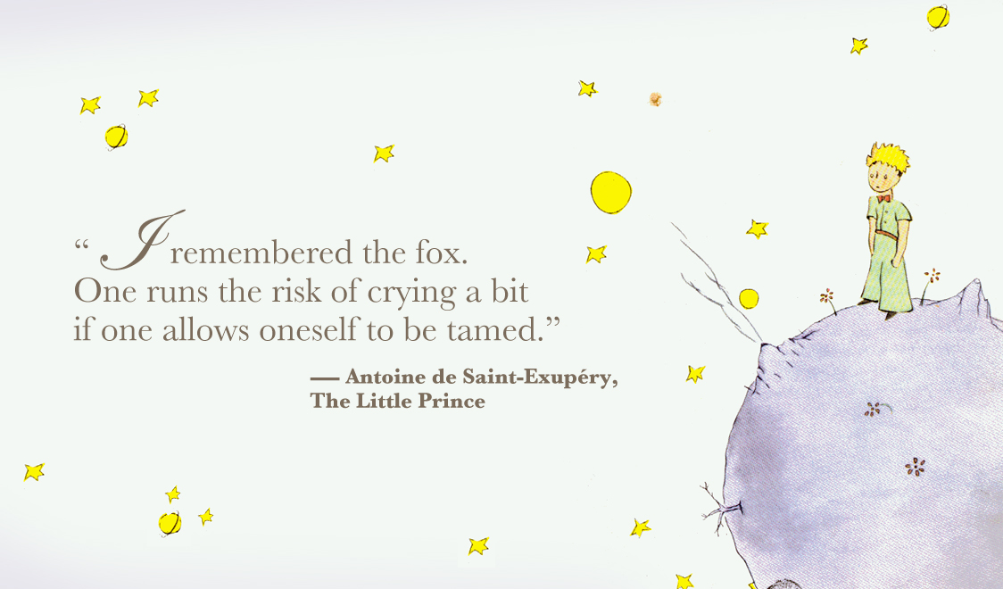 an analysis of the topic of the book the little prince by antoine de saint exupery The little prince first published in april 1943, is a novella, the most famous work  of french aristocrat, writer, poet, and pioneering aviator antoine de saint- exupéry the novella is one of the most-translated books in the world and has  been  according to one analysis, the story of the little prince features a lot of  fantastical,.