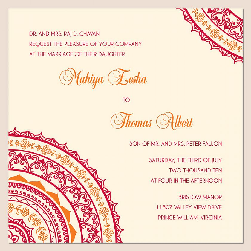 Wedding Invitation Cards Online India: Indian Wedding Invitation Quotes. QuotesGram