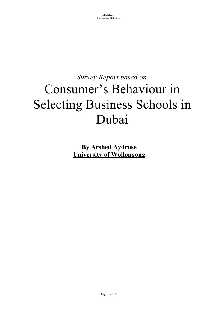 personality of consumer behavior The internal influences that have effect on consumer behaviour consist of an  individual's perception, learning, memory, motives, personality, emotions and.