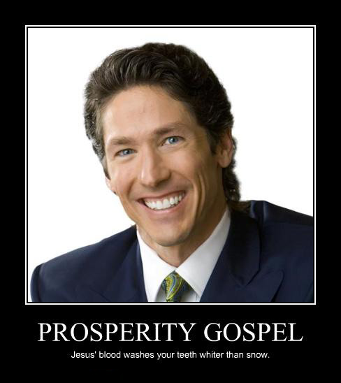 thesis on prosperity theology