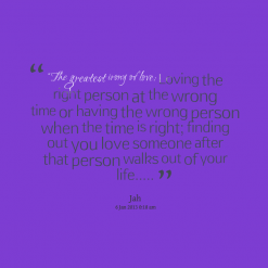 right love wrong time quotes quotesgram